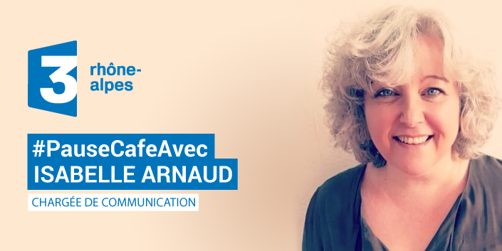 Isabelle Arnaud chargée de communication à France 3 Rhône Alpes