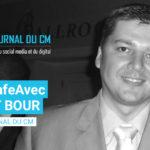 #PauseCafeAvec : Laurent Bour •  Fondateur Journal du CM