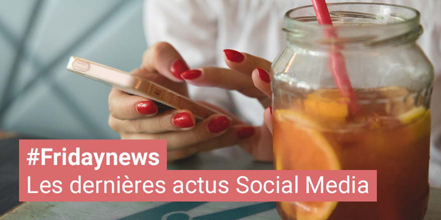 Actus Social Media Avril