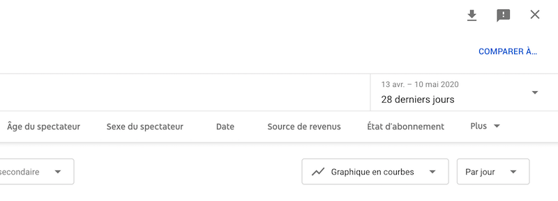 export youtube analytics