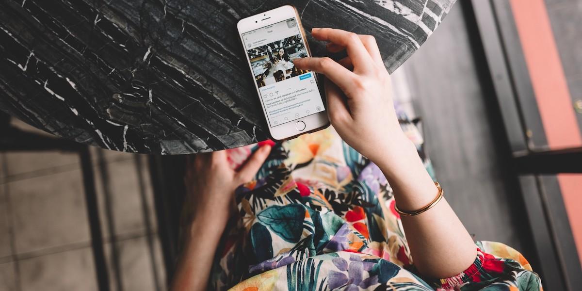 prospection grace a Instagram
