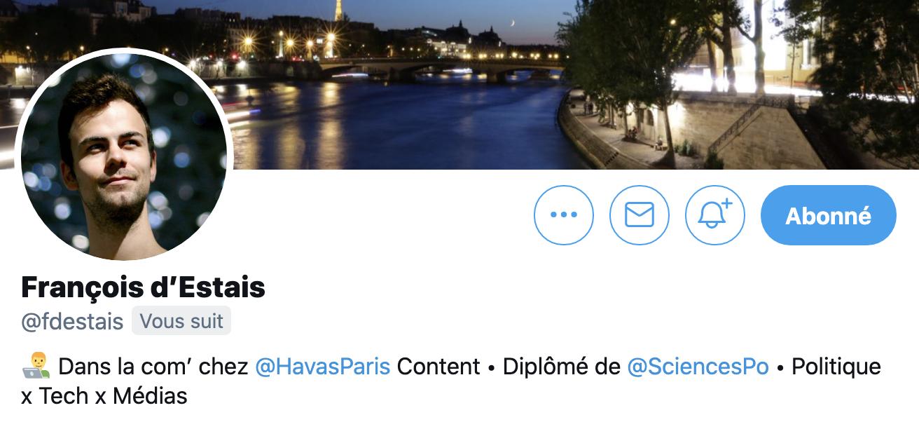 Profil François d'Estais